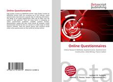 Bookcover of Online Questionnaires