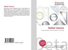 Portada del libro de Mahler Volume