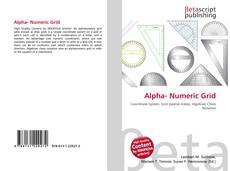 Bookcover of Alpha- Numeric Grid