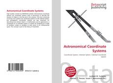 Bookcover of Astronomical Coordinate Systems