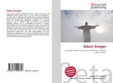 Bookcover of Adam Senger
