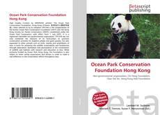 Portada del libro de Ocean Park Conservation Foundation Hong Kong