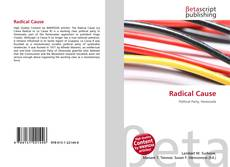 Bookcover of Radical Cause