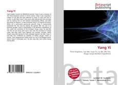 Bookcover of Yang Yi