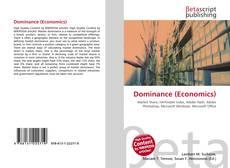 Buchcover von Dominance (Economics)
