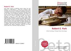 Bookcover of Robert E. Park
