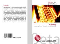 Capa do livro de Publicity
