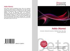 Bookcover of Adda (Name)