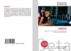 Bookcover of AddThis
