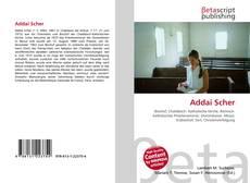 Capa do livro de Addai Scher