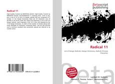 Bookcover of Radical 11