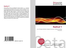 Bookcover of Radical 1
