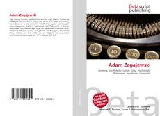 Buchcover von Adam Zagajewski