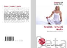 Buchcover von Robert E. Howard's Health