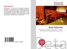 Buchcover von Addi Adametz