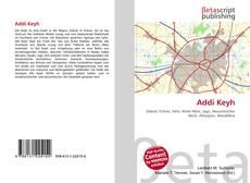 Buchcover von Addi Keyh