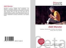 Buchcover von Addi Münster