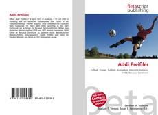 Buchcover von Addi Preißler