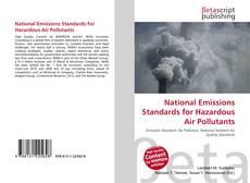 National Emissions Standards for Hazardous Air Pollutants kitap kapağı
