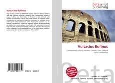 Bookcover of Vulcacius Rufinus