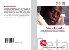 Bookcover of Adama Damballey