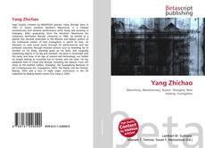 Capa do livro de Yang Zhichao