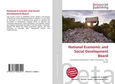 Bookcover of National Economic and Social Development Board