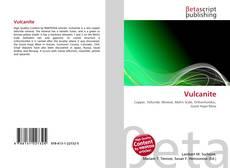 Bookcover of Vulcanite