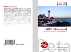 Capa do livro de NERO International