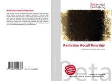 Bookcover of Radiation Recall Reaction