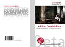 Bookcover of Addison Crandall Gibbs