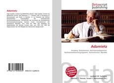 Buchcover von Adamietz