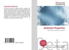 Обложка Radiation Properties