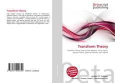 Transform Theory kitap kapağı