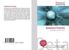 Bookcover of Radiation Proctitis