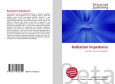 Capa do livro de Radiation Impedance