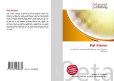 Bookcover of Pat Brown