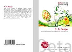 Bookcover of N. G. Ranga