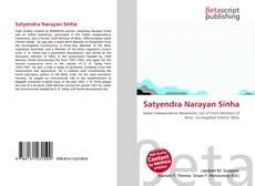Portada del libro de Satyendra Narayan Sinha