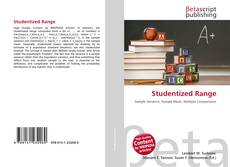 Bookcover of Studentized Range