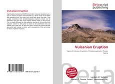 Bookcover of Vulcanian Eruption