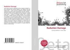 Bookcover of Radiation Damage