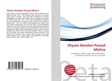 Shyam Nandan Prasad Mishra kitap kapağı