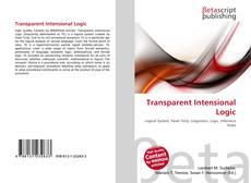 Bookcover of Transparent Intensional Logic