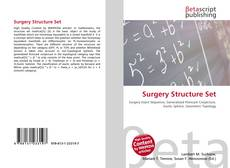 Bookcover of Surgery Structure Set
