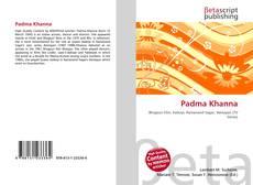 Padma Khanna kitap kapağı