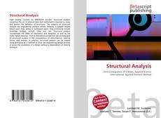 Bookcover of Structural Analysis