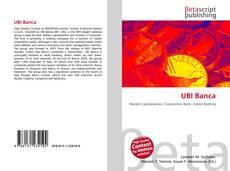 Buchcover von UBI Banca