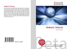 Bookcover of Radiant, Ontario