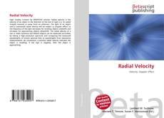 Copertina di Radial Velocity